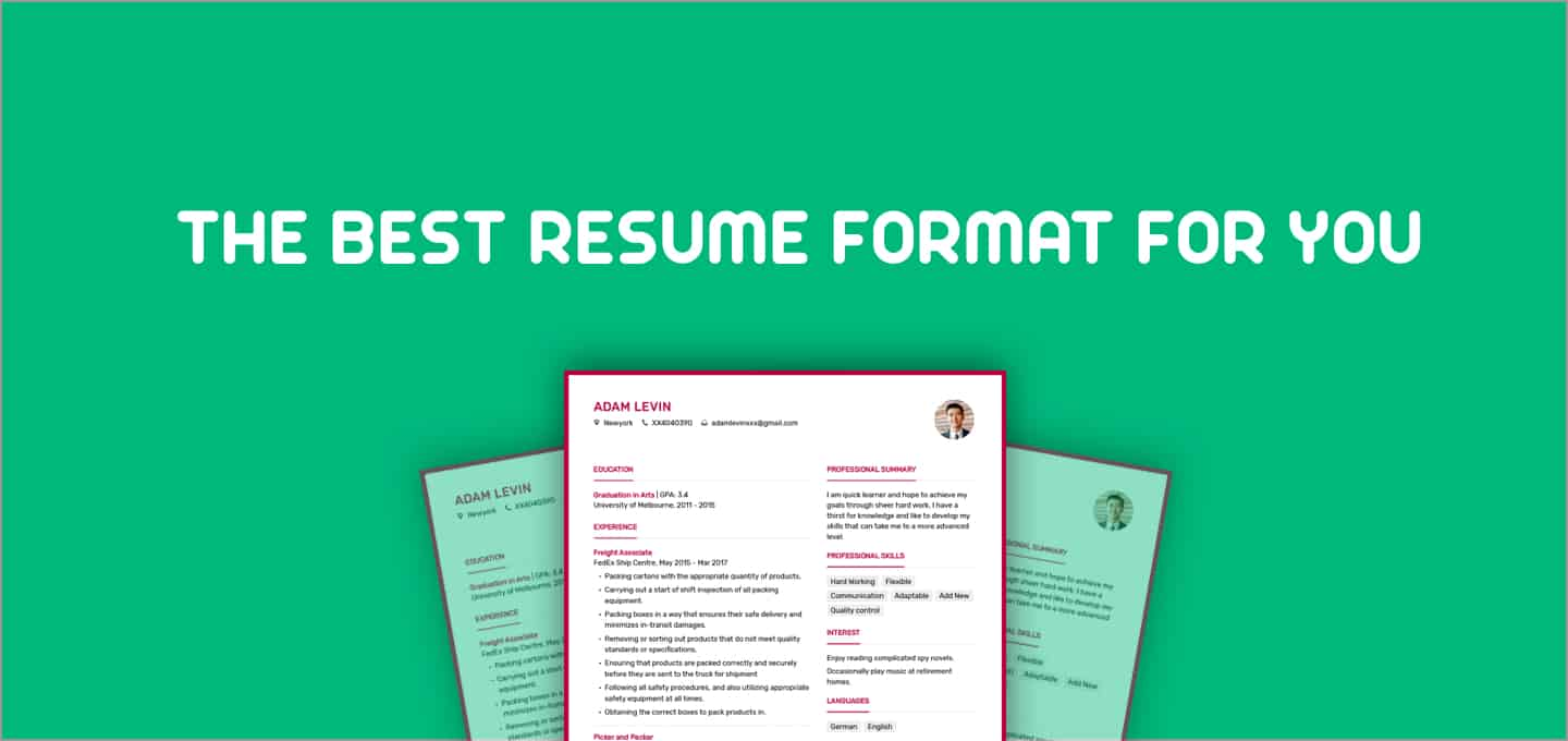 current_resume_format