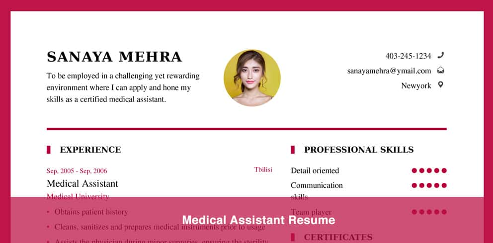 Resume Samples Resume Examples 2018