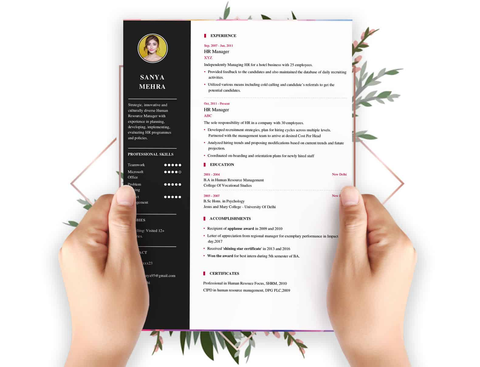 Resume Builder - Free Resume builder. Latest Resume Format 2019