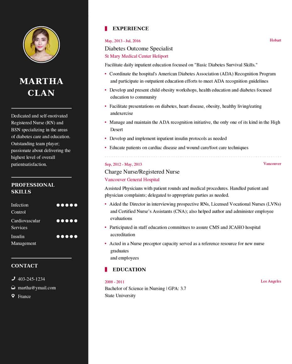 Nurse Resume Sample Latest Resume Example My Resume