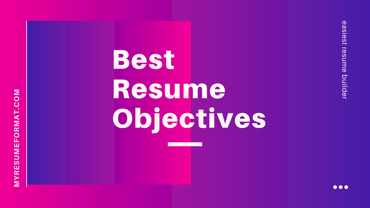 Resume Objective Samples And Career Objective Examples Free