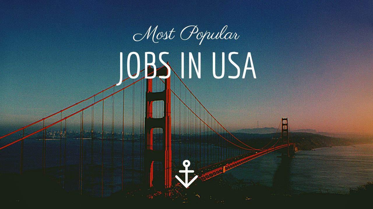 Job, salary in USA