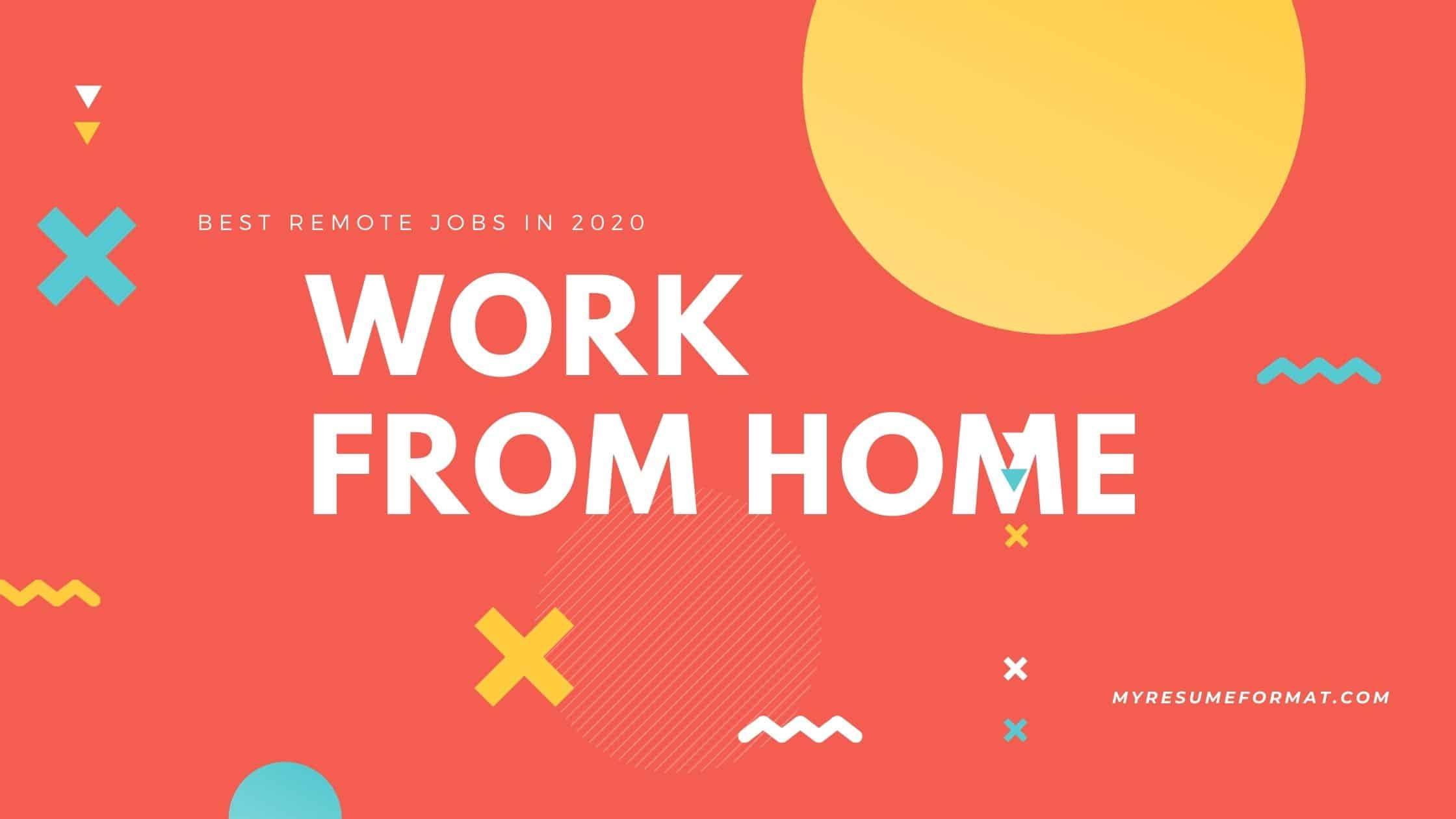 reomote jobs wfh