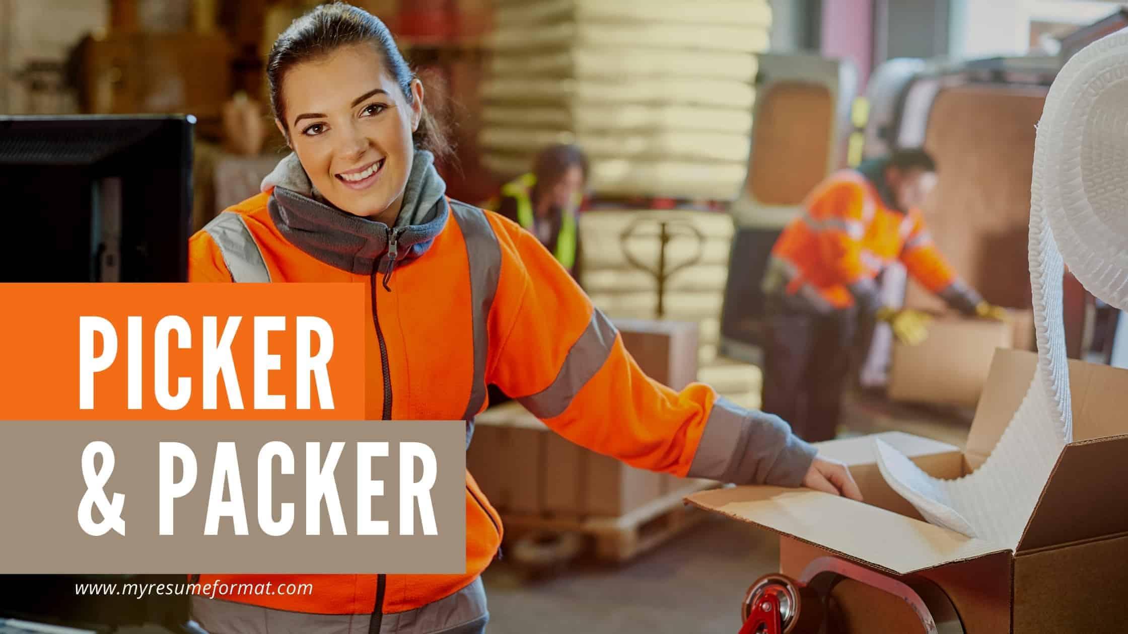 picker packer job description