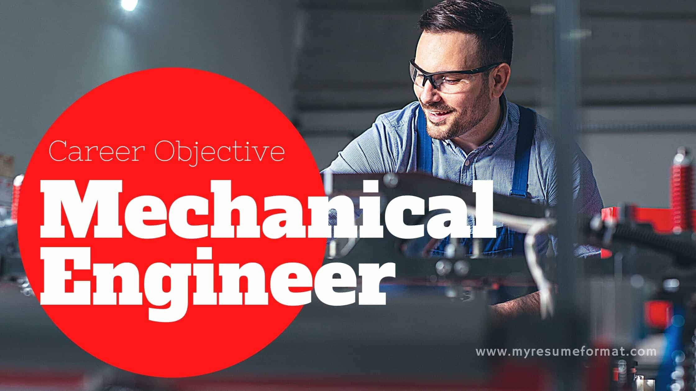 Mechanicl Engineer career objective for resume