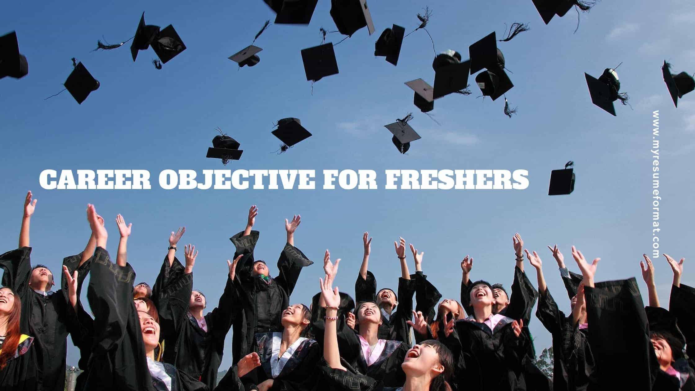 career objective fresher