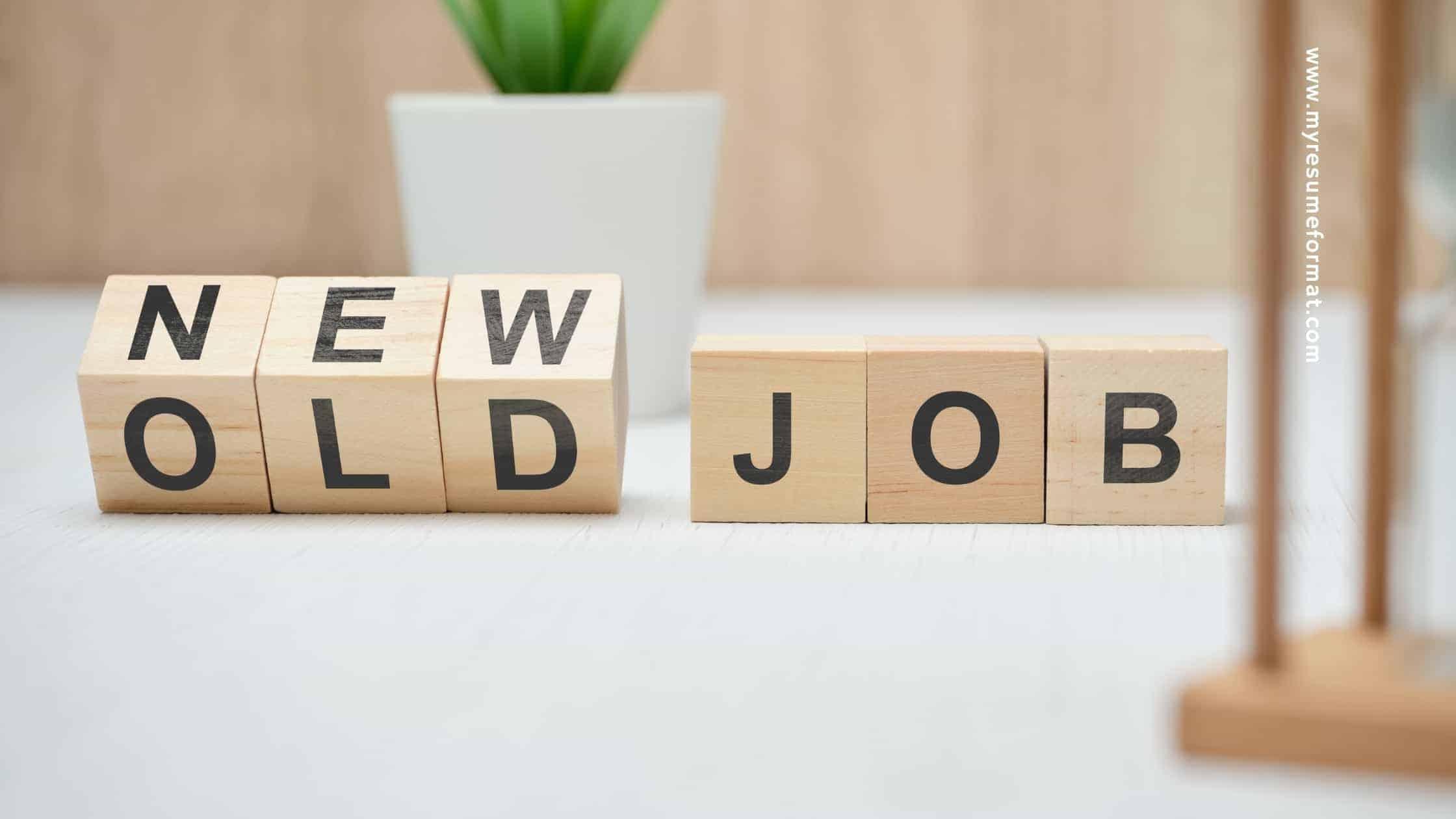 Job Change reason interview