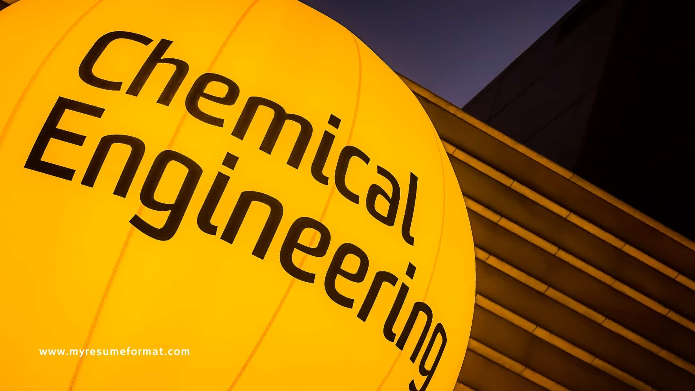 Career objective for Chemical Engineer sample